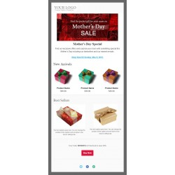 Email Template for Gift Suppliers